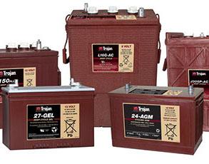 Baterías para fregadoras