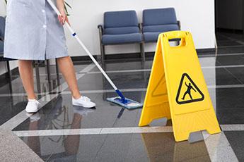 Aplicación de desinfectantes